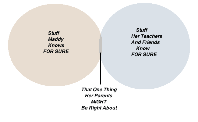 Parental Knowledge Venn Diagram