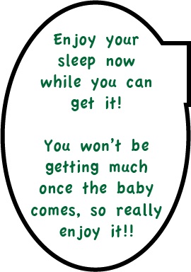 Expecting? Get some sleep!